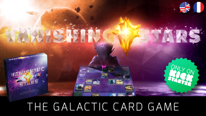 Vanishing Stars : Cards & Strategy in Space image