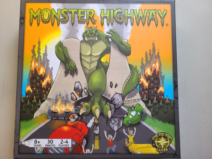 Monster Highway Box Art