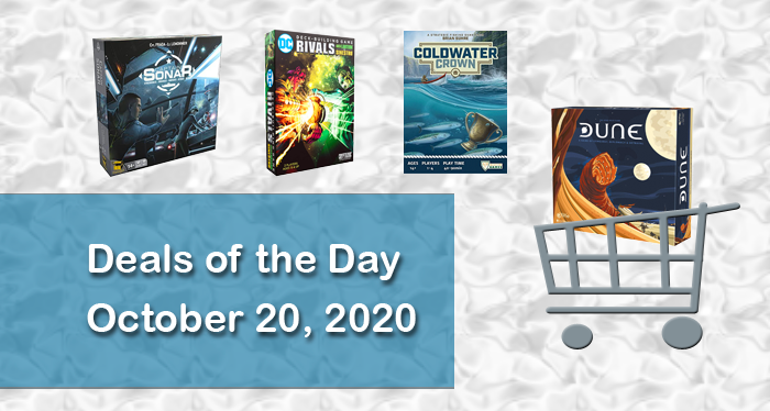 The Best Board Game Deals: October 20, 2020 image