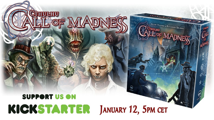 Cthulhu: Call of Madness - KS on 12th January 2021 image