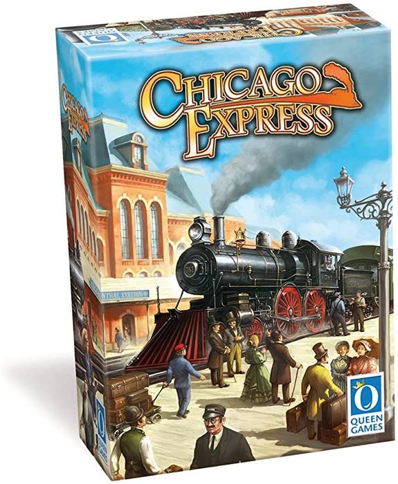 Chicago Express in alpha testing on Board Game Arena! image