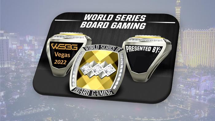 World Series of Board Gaming Rings