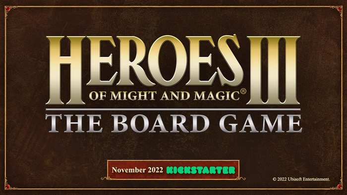 Heroes of Might and Magic III Board Game Coming to Kickstarter